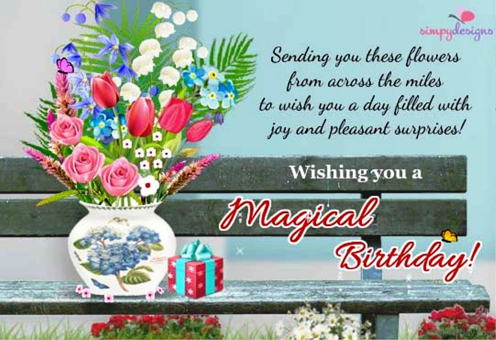 12 birthday wishes across the miles wishing you a magical birthday m4hsunfo