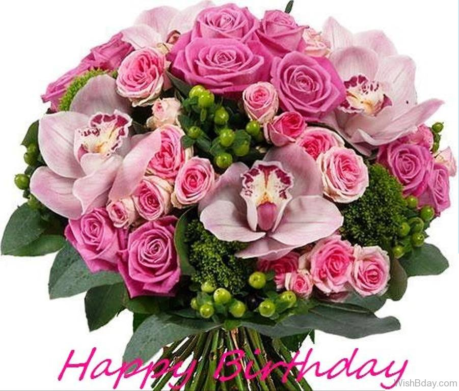Birthday Wishes Flower Bouquet Images