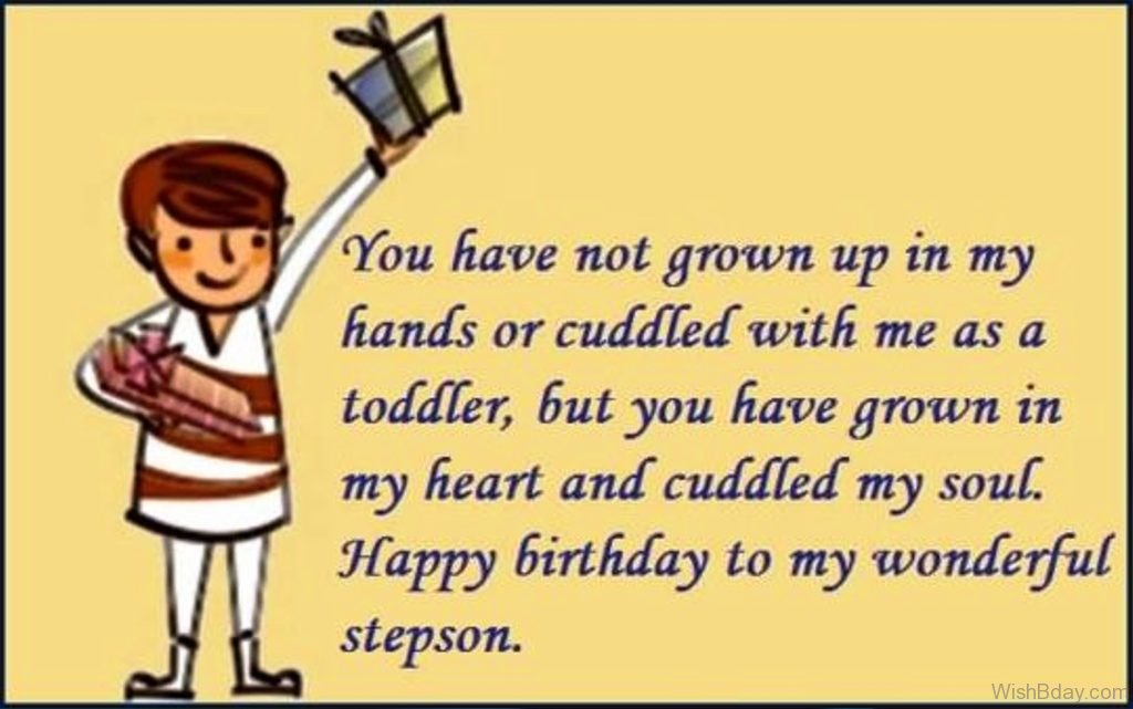 48 Birthday Wishes For Stepson